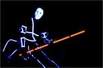 Laser et arts martiaux