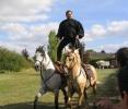 Cascades à cheval