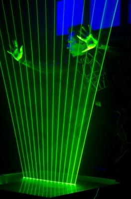 Team building, Show de laser - 2