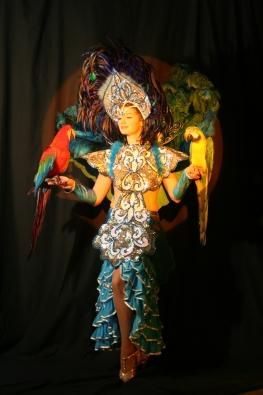 Team building, La danseuse aux oiseaux - 2