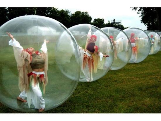 Team building, Les poupées dans les bulles - 5